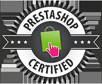 Certified by Prestashop
