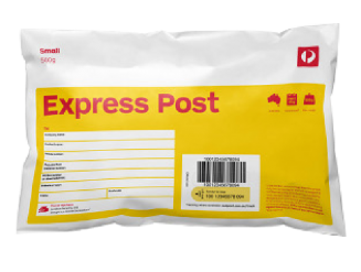 Support Express post prepaid satchels