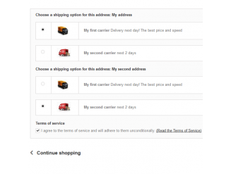 Multi-Shipping - Checkout step 4