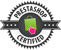 Certified by Prestashop